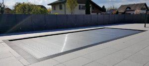 Protection piscine couverture
